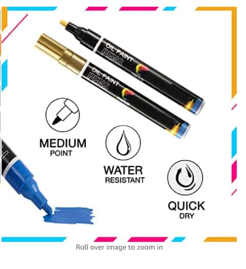 Paint Pens for Rock Painting